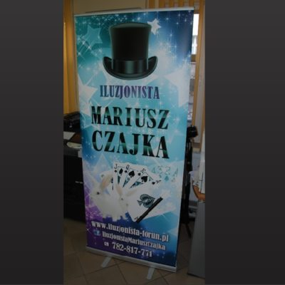 Roll-up dla iluzjonisty